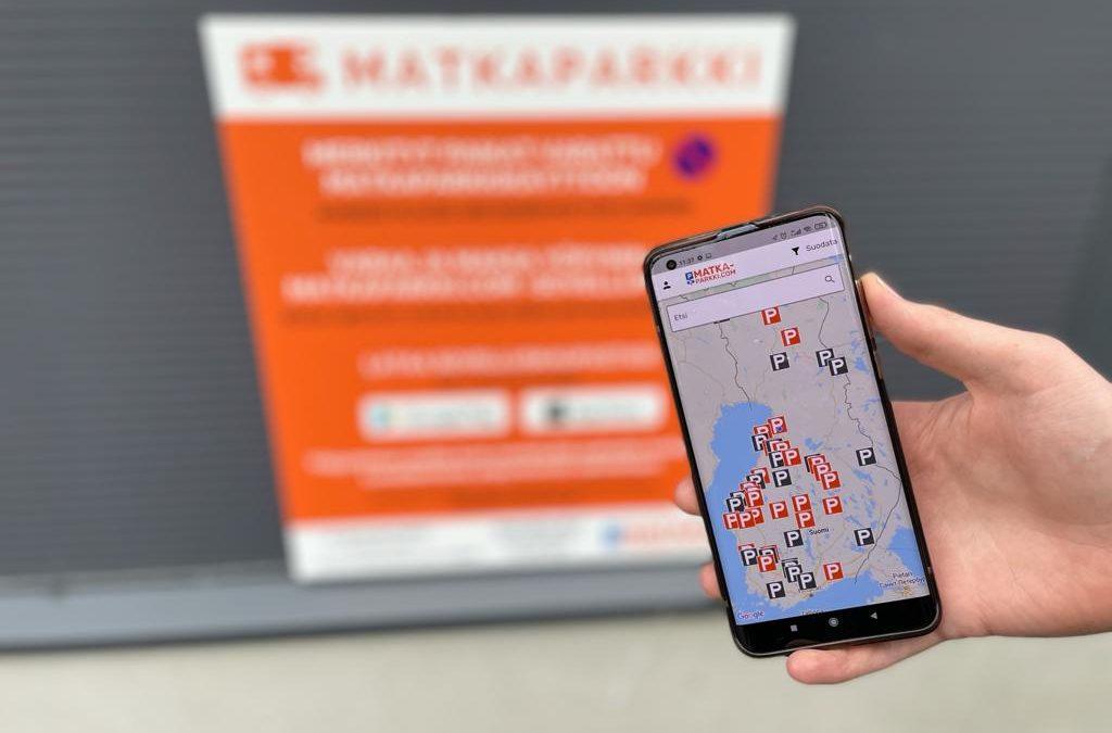 TIEDOTE: Matkaparkki.com avaa matkaparkkisovelluksen ja yli 70 matkaparkkia Suomeen