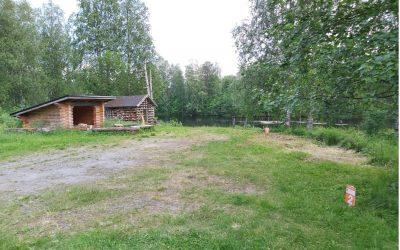 Jongunjoen kyläseura laavu – Matkaparkki Jongunjoki