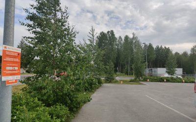 HalpaHalli matkaparkki Siilinjärvi